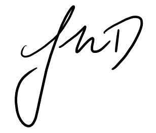 Jmd Signature Bw